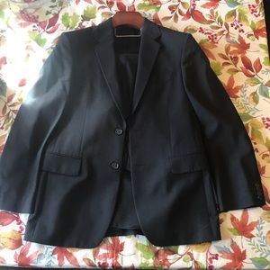 Essential black suit from Express